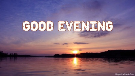 Good Evening SMS Quotes-With Images