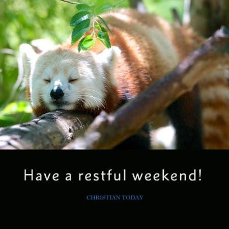 Restful weekend