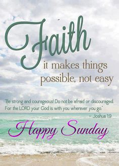 Faith Sunday