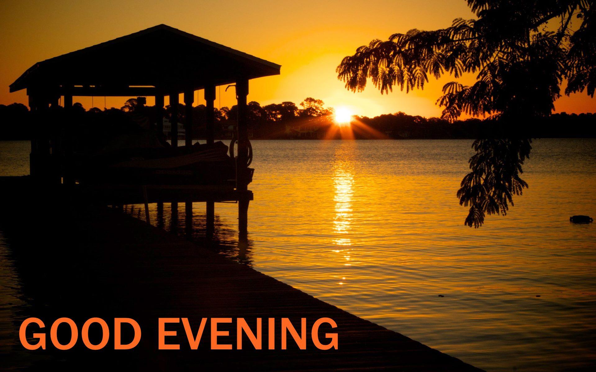 Amazing Sunset Good Evening Hd Wallpaper 02230 My Blog