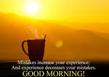 Morning Mistake