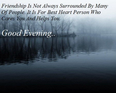 Friends-Good-Evening-SMS-Quote