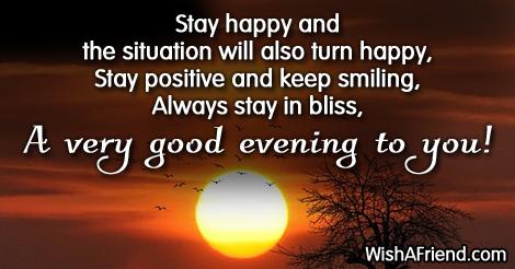 8243 Good Evening Messages My Blog