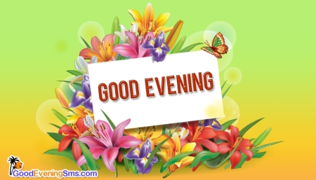 good-evening-image-with-flowers-52650-15373